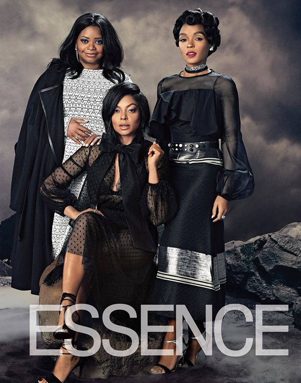 "The stars of ""Hidden Figures"" in Essence Magazine, February 2017."