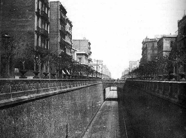 La via del Carrer Aragó - Barcelona