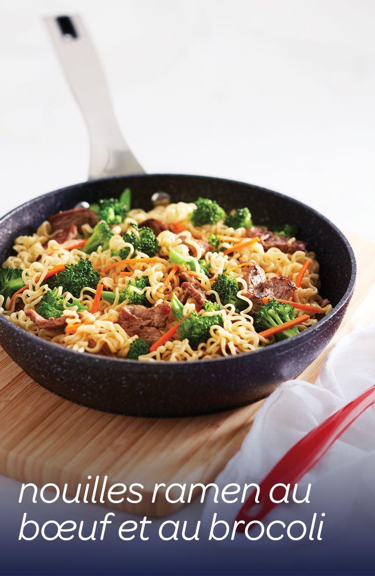 Les économiques nouilles instantanées sont tendres dans les soupes et les sautés ou croustillantes avec un goût de noisette dans les salades #recette
