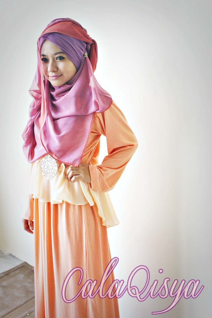hijab tutorial cover chest