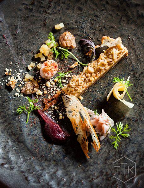 Foie Gras Mie Quit, Rabbit Ham, Rooibos and Quince