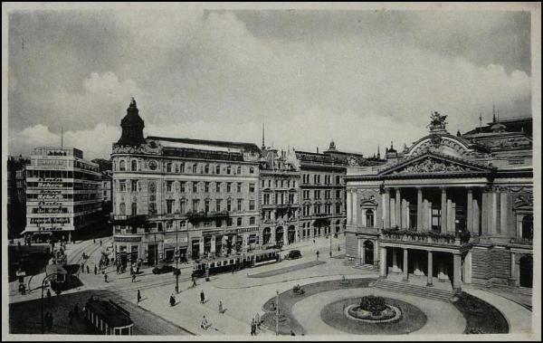 Brno - Malinovského náměstí (1938)