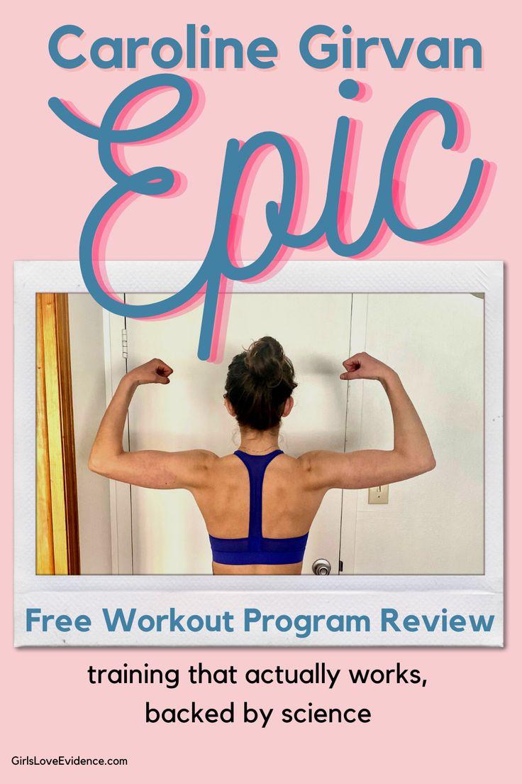 Caroline Girvan Epic Youtube Workout Program Review In 2021 Workout Programs Youtube Workout Free Workout Programs