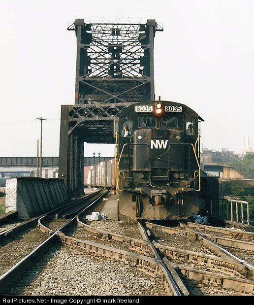 RailPictures.Net Photo: 8035 Norfolk & Western GE C30-7 at Buffalo, New York by mark freeland