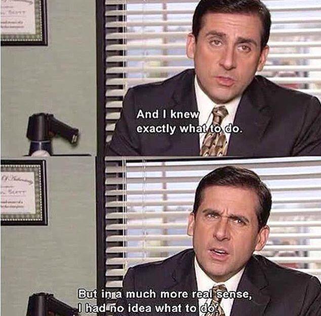 Life humor the office meme Michael Scott quote truth lmao funny