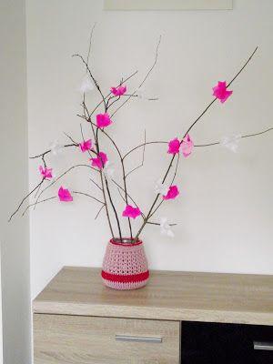 D.I.Y ( do it yourself )... czyli  Zrób TO Sam...: TUTORIAL- Jak zrobić kwitnące gałęzie z kwiatami w...