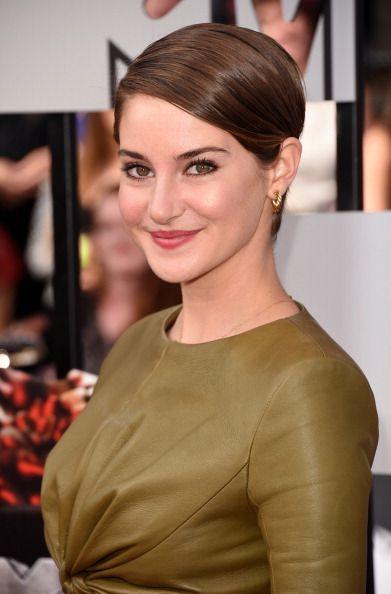 Love her makeup. Shailene Woodley