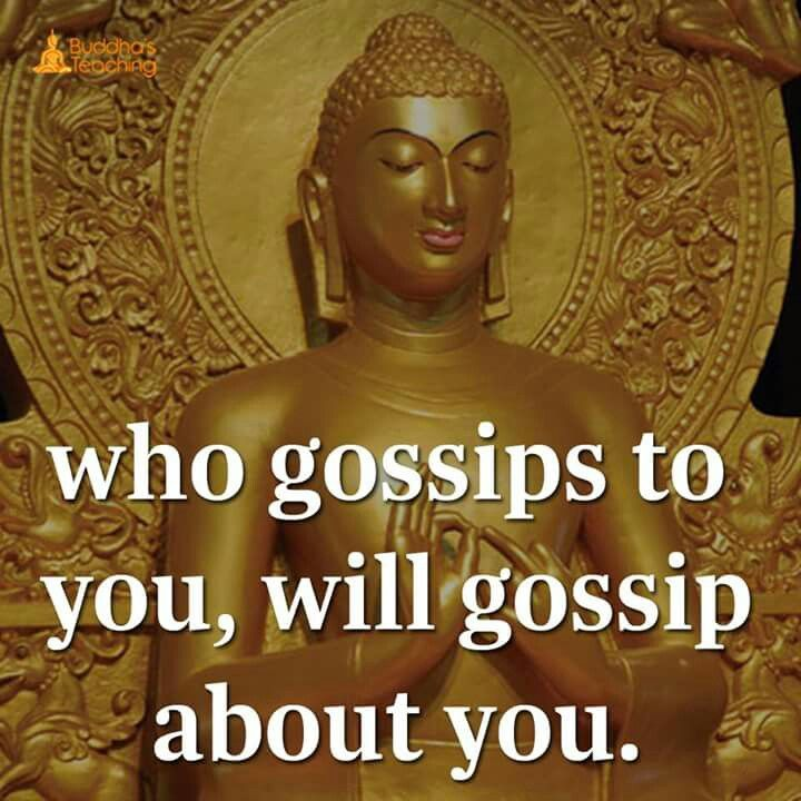 Who gossips to you, will gossip about you.