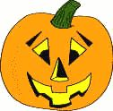 pumpkin face cut and paste templates