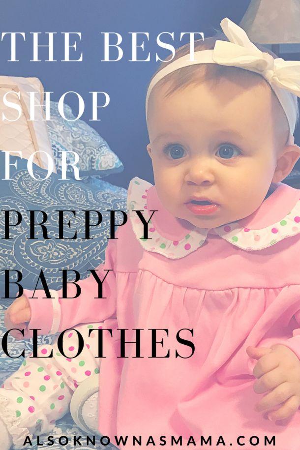 Eyelet & Ivy | Preppy Baby Polka Dot Clothes | Baby Girl Style