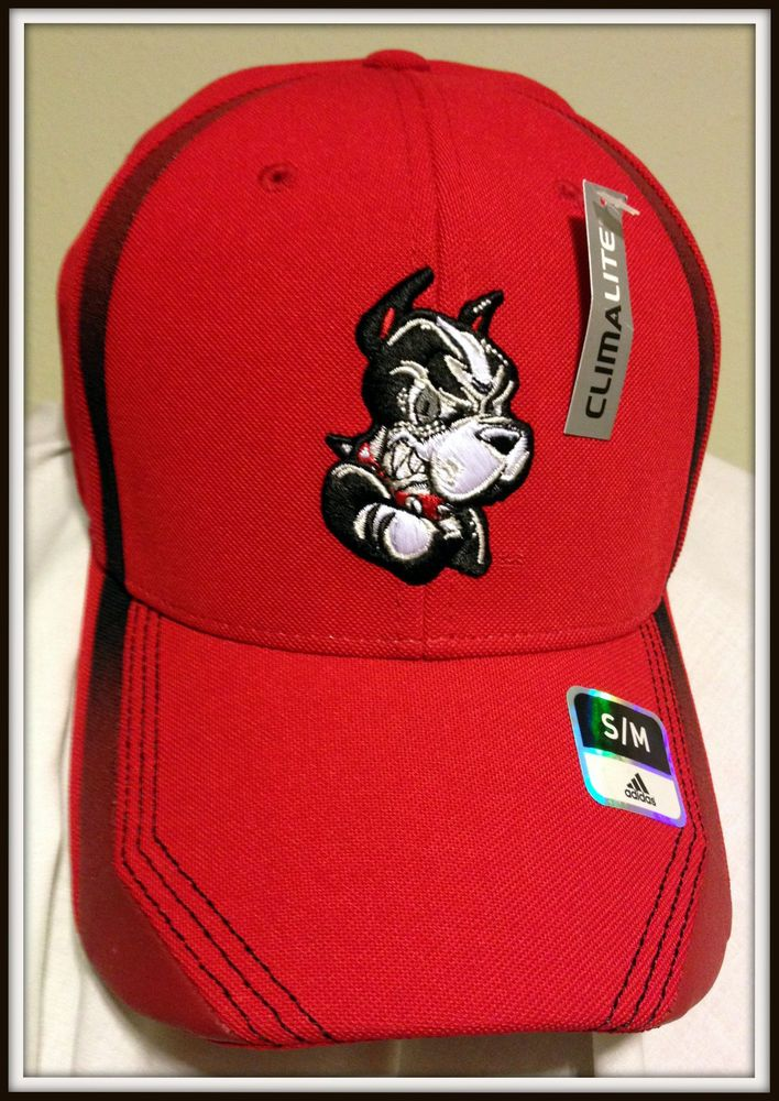 BOSTON UNIVERSITY TERRIERS ADIDAS CLIMALITE ADULT S/M FOOTBALL CAP FREE SHIPPING #adidas #BostonUniversity