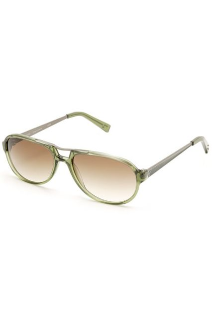 The Best Everyday Sunglasses For Spring #refinery29  http://www.refinery29.com/spring-sunglasses-trend#slide-17  RetroEveryone has stainless-steel aviators. Try an acetate pair on for size.