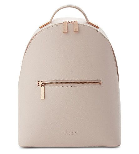 TED BAKER Jarvis leather backpack