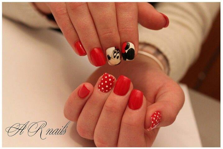 #mickey, #minnie, #Disney, #nails, #love, #alinaRomeiko, #arnails, #naildesign, #АлинаРомейко, #ногти, #микки, #художественнаяроспись