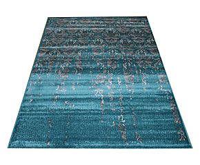 Tappeto Modern Greys turchese - 285x200 cm