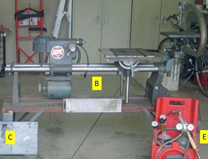1950 Shopsmith Table Saw shop smith tools
