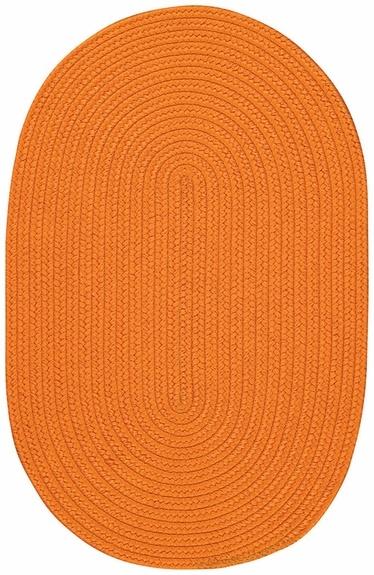 Tropical Rug in Orange