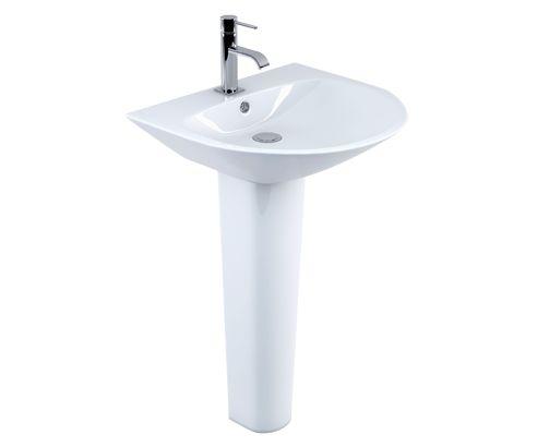Maderno Signature Pedestal Basin - V32121132JI front_angle square medium