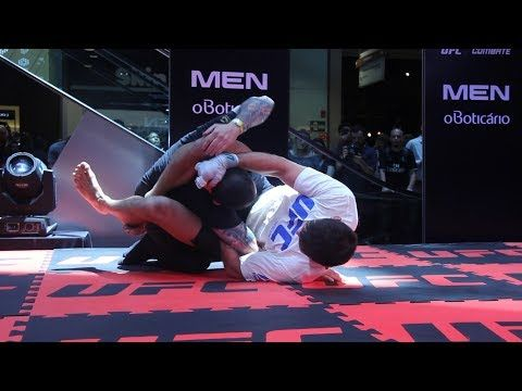UFC Sao Paulo: Demian Maia Open Workout Highlights - MMA Fighting
