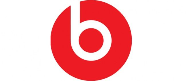 In this logo, the big red circle looks like a person and the letter b looks like headphones so you will think they have to do with something with music or headphones.