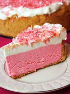 Pink lemonade pie! Sounds like summer..