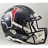 Houston Texans Riddell velocidad Full Size Authentic Casco de fútbol