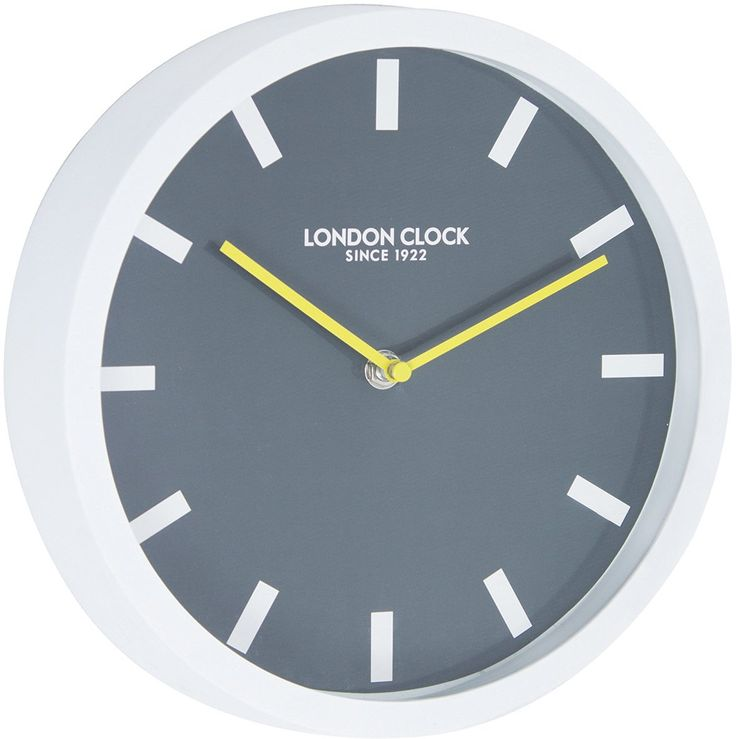 London Clock 1922 - London Pop - Pop - White Wall Clock: Amazon.co.uk: Kitchen & Home
