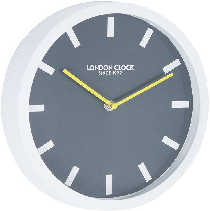 London Clock 1922 - London Pop - Pop - White Wall Clock: Amazon.co.uk: Kitchen & Home