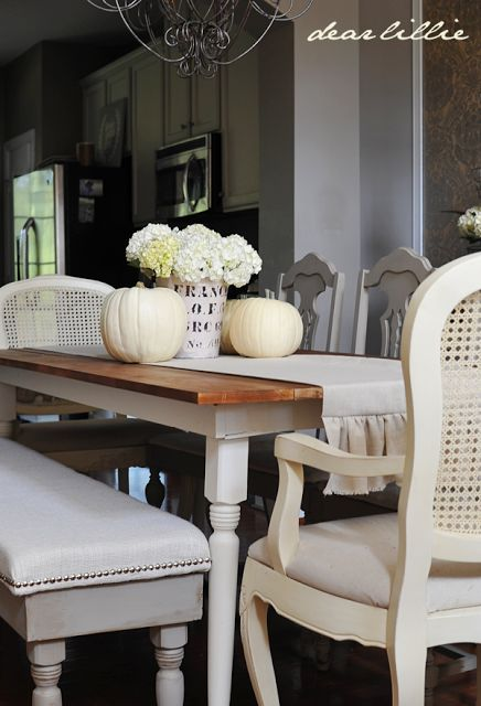 Runners And Tablecloths Ideas Dining Room Setting