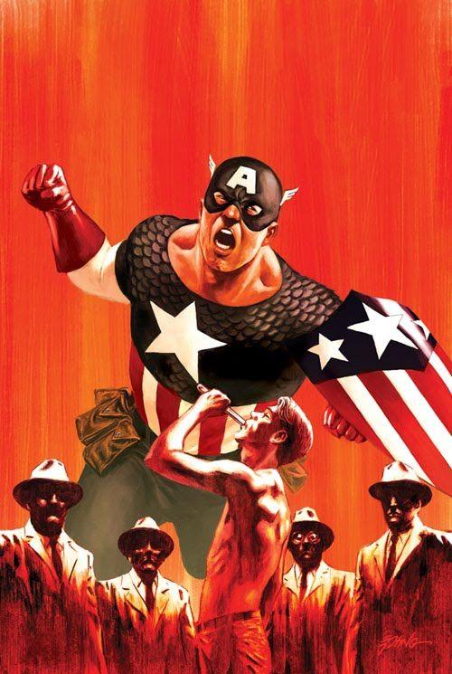 Captain America by Steve Epting