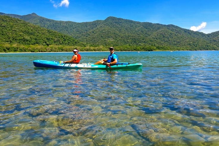 Bucket List check - Kayaking at Cape Tribulation in Queensland, Australia