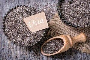 Chia-Samen positive Wirkung und Rezepte