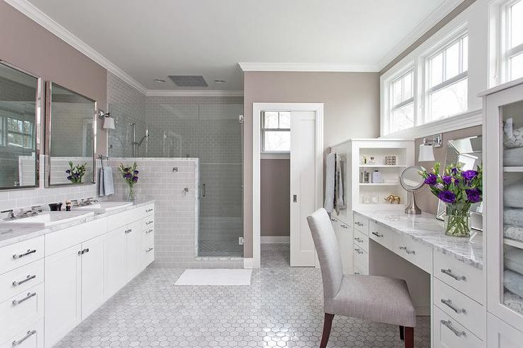 Best 25 taupe bathroom ideas on pinterest taupe color - Type of paint for bathroom cabinets ...