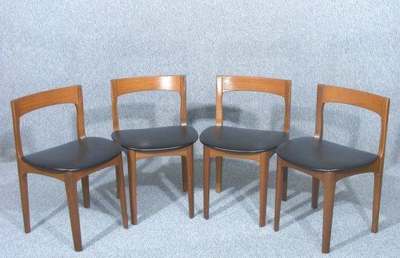 Set Of Four Vintage Danish Dining Chairs Set Of Four Chairs Dining Chairs Set Of Dining Chairs Vi Danish Dining Chairs Dining Chairs Vintage Danish Chairs