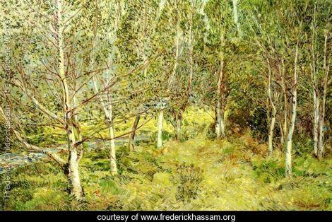 Frederick Childe Hassam Spring Woods