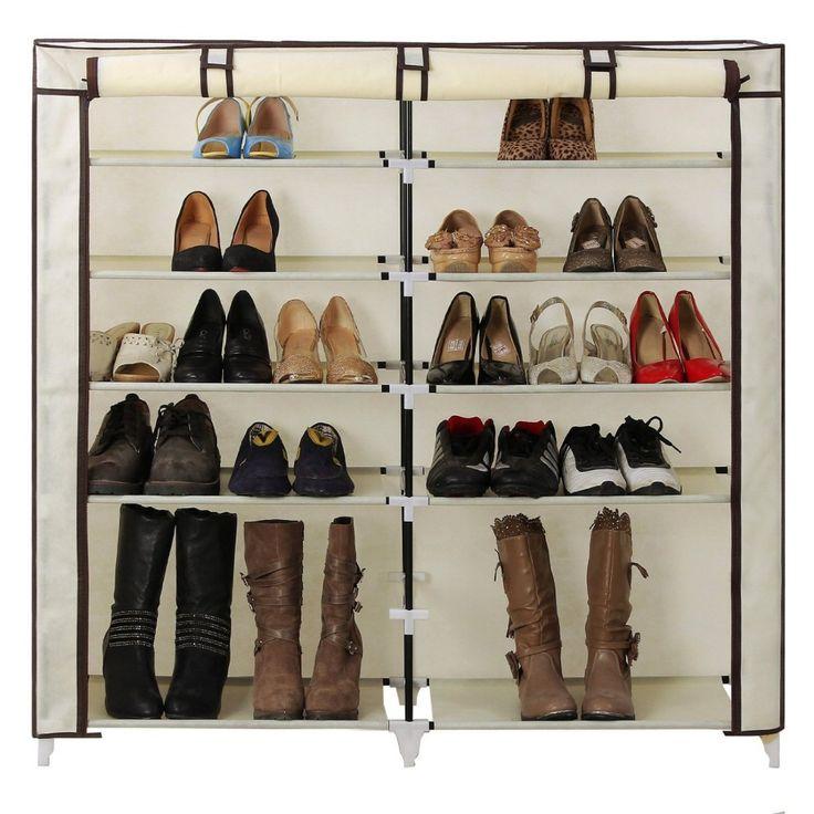 Songmics 7-Tier shoe storage cabinet organizer Top 10 Best Shoe Racks In 2015 Reviews