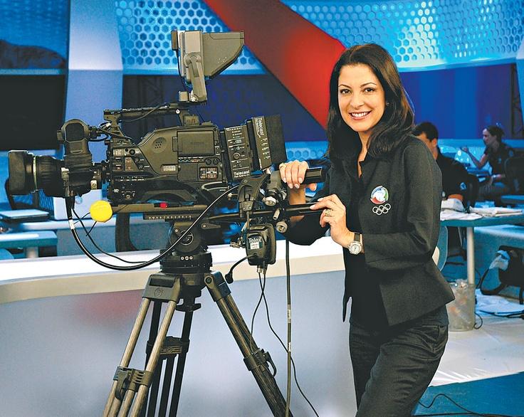Ana Paula Padrão at Rede Record