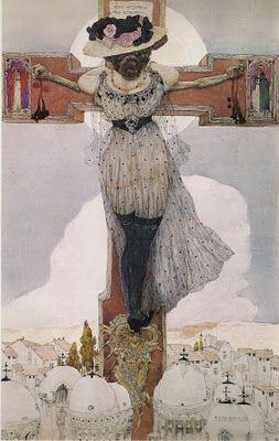 Marie de Magdala by Gustav-Adolf Mossa, 1907