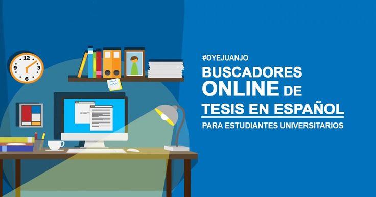 ¿A puertas de obtener tu título universitario? Aquí tienes una recopilación de los mejores buscadores online de tesis en español para la elaboración de tu trabajo final.