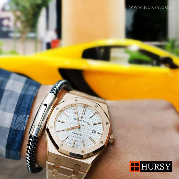 #Hursy Carbon X Bracelet with #AudemarsPiguet - Get one at Hursy.com - #WorldwideExpressShipping