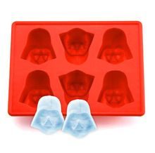 Silicone Star Wars Darth Vader Ice Cube Tray Mold Cookies Chocolate Soap Baking Kitchen Ice Cream Tool(China (Mainland))