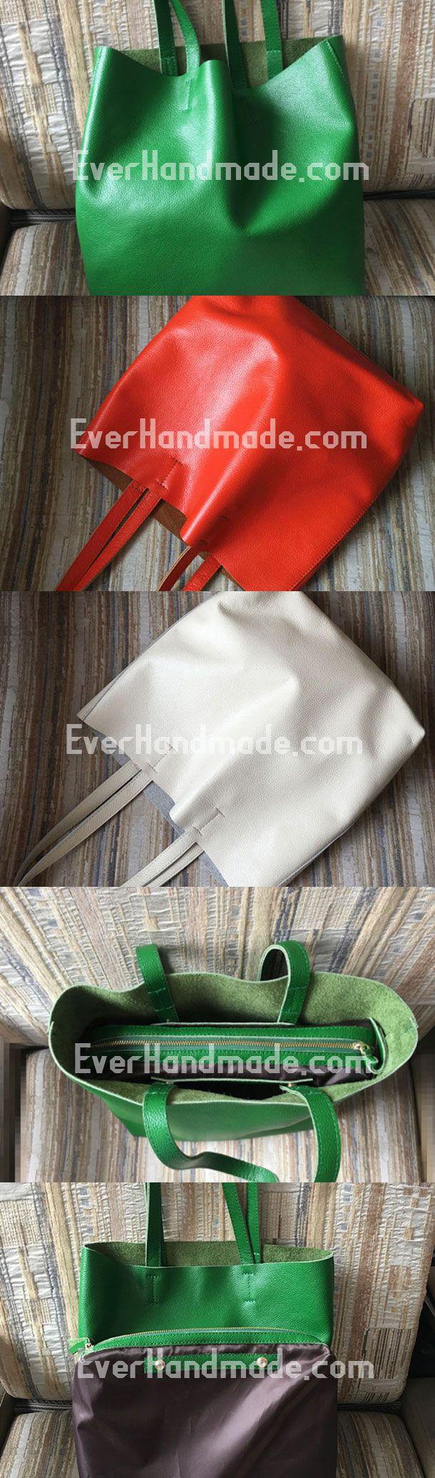 Genuine Leather Bag Handmade Tote Bag Shoulder Bag Handbag