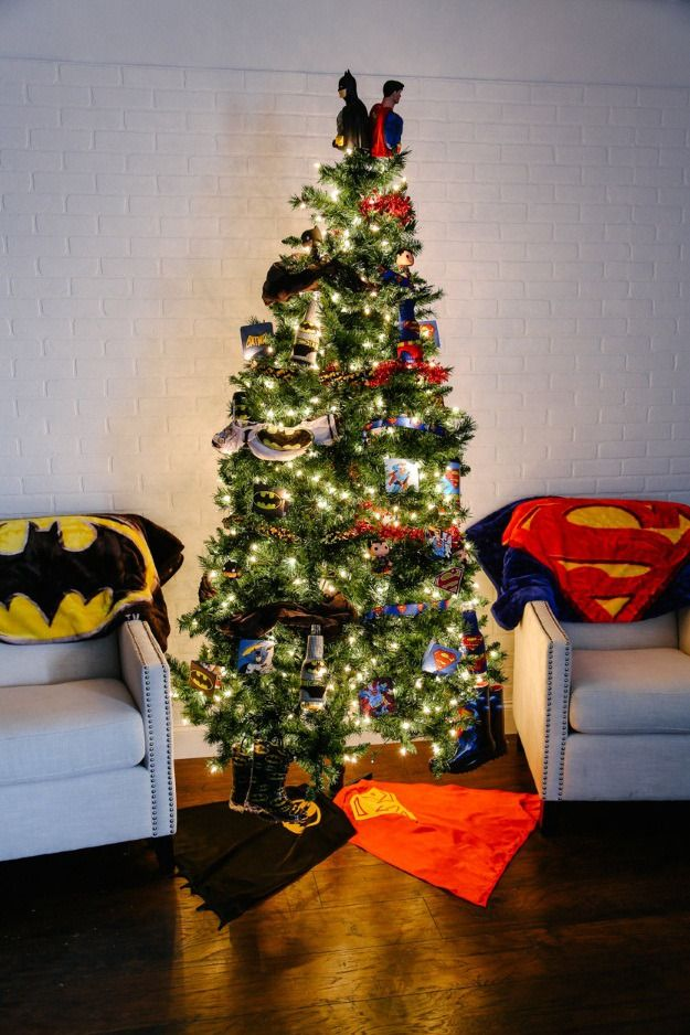 The 25+ best Batman christmas tree ideas on Pinterest