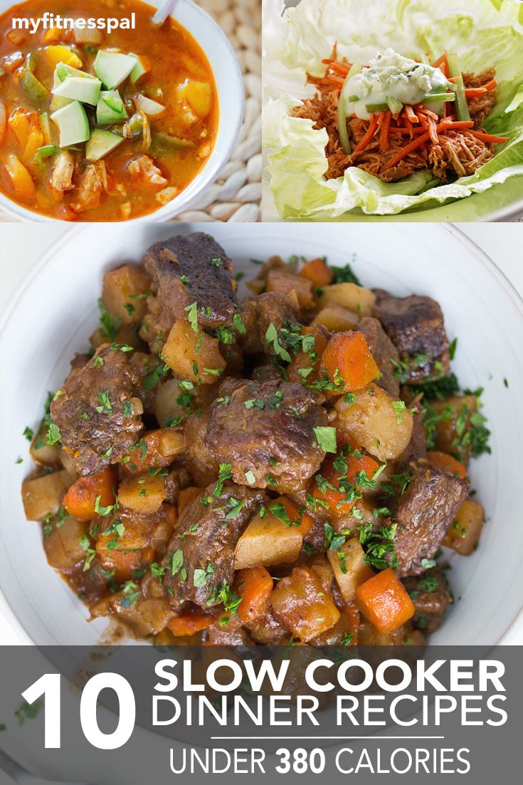 10 Slow Cooker Dinners Under 380 Calories