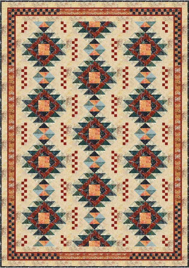 how to make a native american star quilt