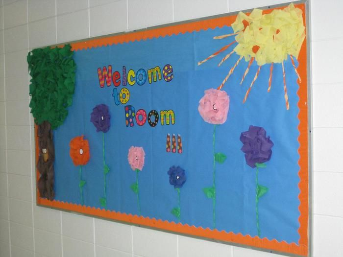 Welcome To Room 111! - Back-To-School Bulletin Board