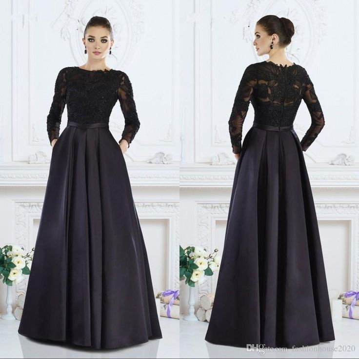 free shipping, $125.63/piece:buy wholesale black long sleeve mother of the bride dresses 2017 boat neck applique satin plus size wedding guest dress evening wear formal party gowns mother of the bride dresses plus size,2016 fall winter,reference images on fashionhouse2020's Store from DHgate.com, get worldwide delivery and buyer protection service.