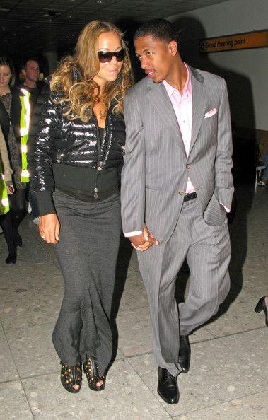 Mariah Carey Photos - Mariah Carey and Nick Cannon arrive at Heathrow airport in London, England. - Mariah Carey and Nick Cannon at Heathrow Airport