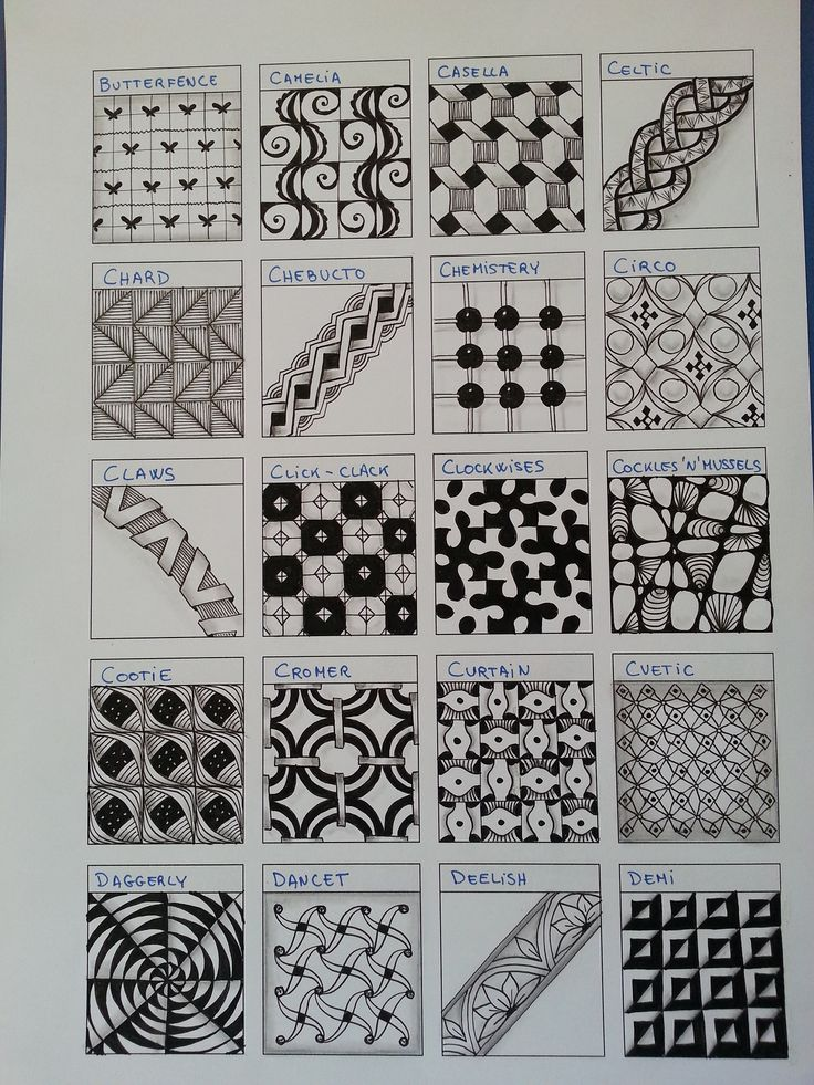 Zentangles~B~D.  Someone is going to lose their mind this year... me or them.