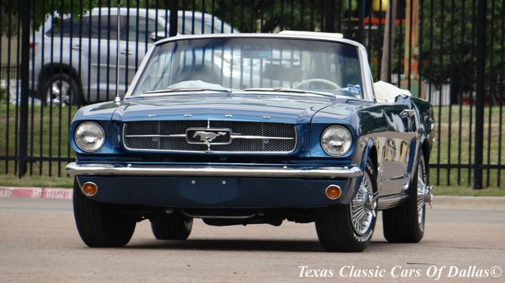 Car brand auctioned: Ford Mustang Base 1964 1 2 Car model ford mustang convertible 4.7 l 289 ci v 8 d code restored video